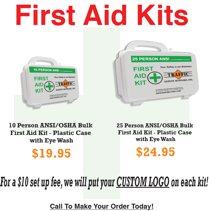 Traffic Safety Supplies, Inc  - First Aid Kits